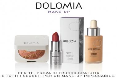 La make-up artist in farmacia